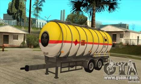Trailer Tunk for GTA San Andreas