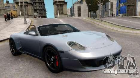 RUF RK Spyder 2006 [EPM] for GTA 4 right view
