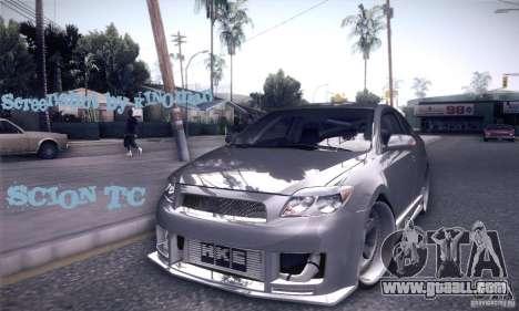 Scion Tc Street Tuning for GTA San Andreas