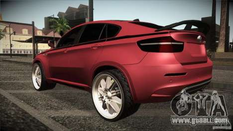 BMW X6 Lumma for GTA San Andreas right view