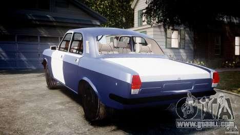 Gaz-2410 Volga 1989 v2.1 for GTA 4 back left view