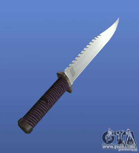 Rambo Knife without signature for GTA 4 second screenshot