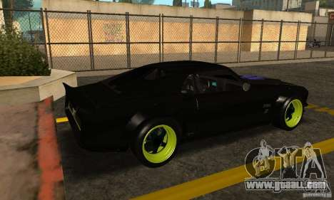 Ford Mustang from NFS Shift 2 for GTA San Andreas back left view