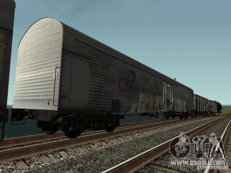 Refrežiratornyj wagon Dessau No. 8 Painted for GTA San Andreas