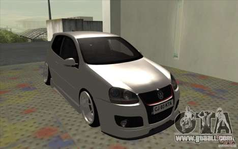 Volkswagen Golf Mk5 for GTA San Andreas left view