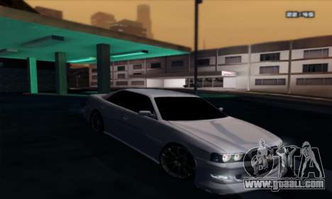Toyota Chaser TourerV JZX100 for GTA San Andreas back left view
