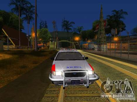 Ford Crown Victoria Police Patrol for GTA San Andreas interior
