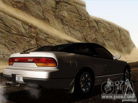 Nissan 240SX S13 - Stock for GTA San Andreas side view