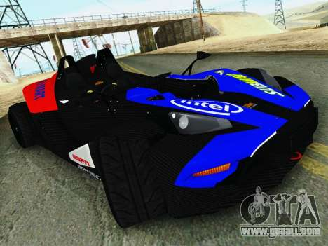 KTM X-Bow 2013 for GTA San Andreas right view