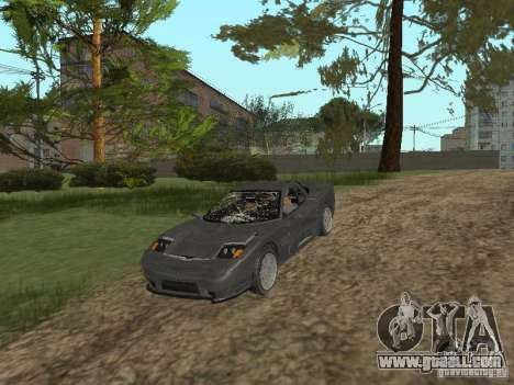 Cheetah from GTA 4 for GTA San Andreas inner view
