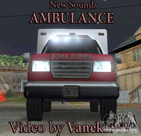 New emergency signal for GTA San Andreas