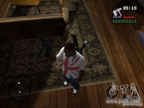 Tec9 HD for GTA San Andreas second screenshot