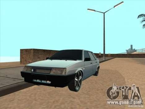 VAZ 21093i Light Tuning for GTA San Andreas