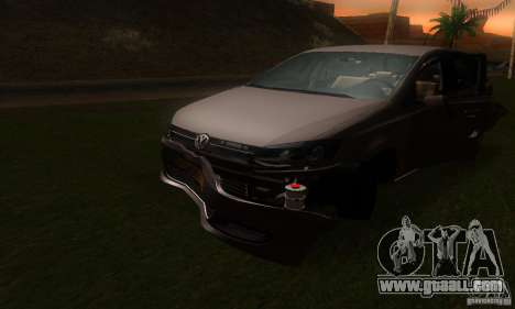 Volkswagen Polo 1.2 TSI for GTA San Andreas side view