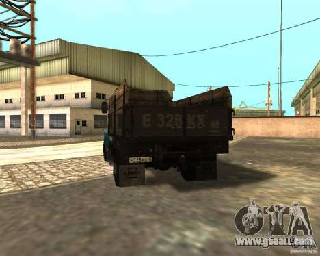 433362 ZIL for GTA San Andreas back view