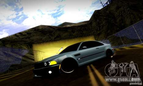 BMW M3 JDM Tuning for GTA San Andreas engine