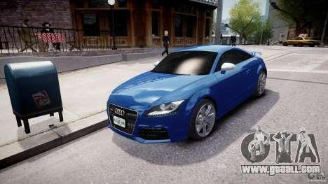 Audi TT RS Coupe v1 for GTA 4 back view