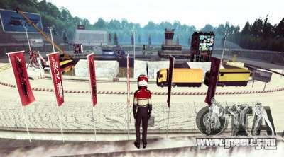 NFS:Shift Drift Tracks for GTA San Andreas third screenshot
