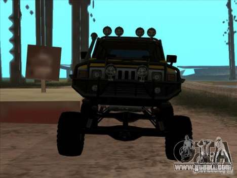 Hummer H3 Trial for GTA San Andreas right view