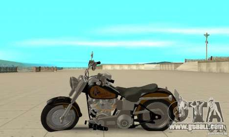 Harley Davidson FLSTF (Fat Boy) v2.0 Skin 3 for GTA San Andreas