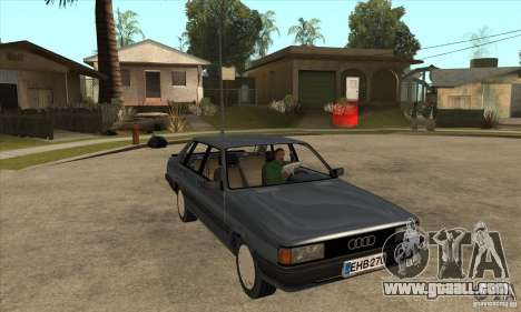 Audi 80 B2 for GTA San Andreas back view