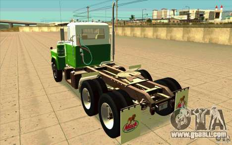 Mack R 1970 for GTA San Andreas back left view
