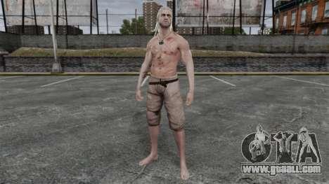 Geralt of Rivia v5 for GTA 4