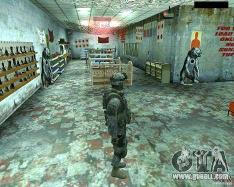 Skin infantryman CoD MW 2 for GTA San Andreas forth screenshot