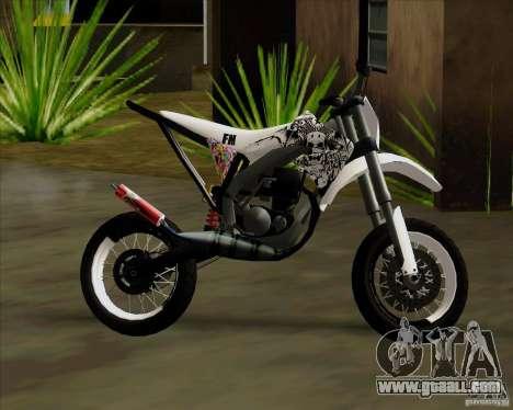 Honda 50 Tuned Stunt for GTA San Andreas right view