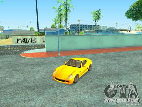 Ferrari 599 GTB for GTA San Andreas engine
