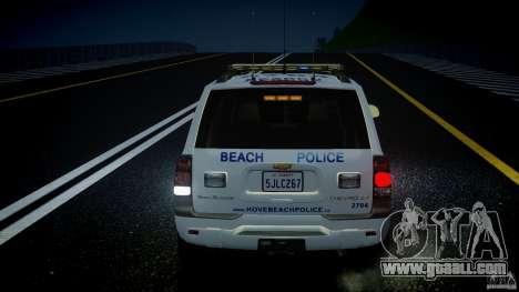 Chevrolet Trailblazer Police V1.5PD [ELS] for GTA 4 wheels