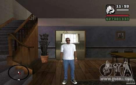 Skinny jeans for GTA San Andreas