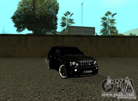 Land Rover Range Rover Sport Hamann for GTA San Andreas