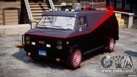GMC Van G-15 1983 The A-Team for GTA 4