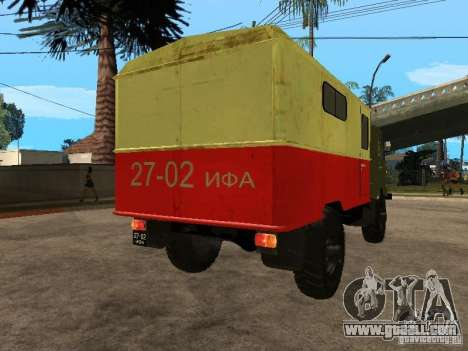 GAZ 66 for GTA San Andreas left view