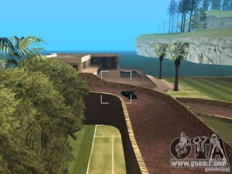 Island mansion for GTA San Andreas third screenshot