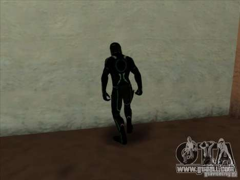 A character from the game Tron: Evolution for GTA San Andreas second screenshot