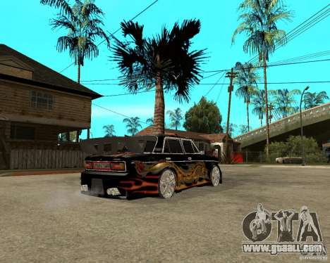 VAZ 2106 GTX tune for GTA San Andreas right view
