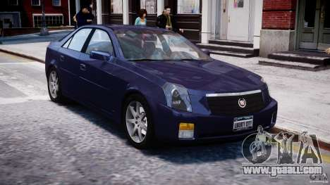 Cadillac CTS for GTA 4 inner view