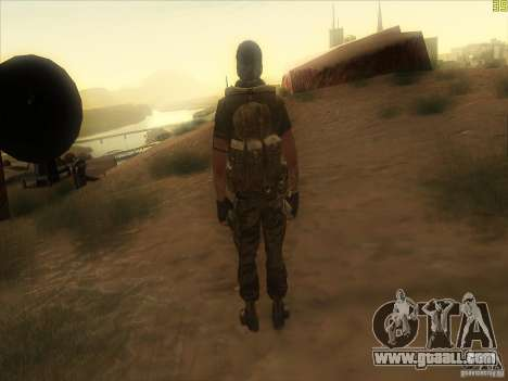 Frank Woods for GTA San Andreas fifth screenshot