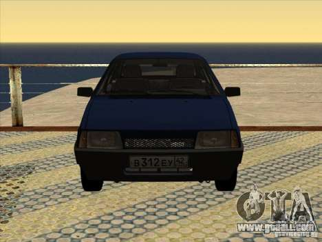 Vaz 2109 Drain V2 for GTA San Andreas