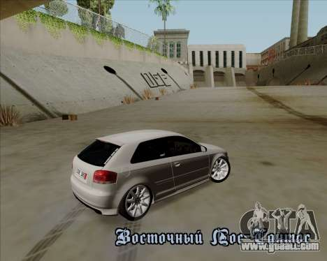Audi S3 V.I.P for GTA San Andreas side view