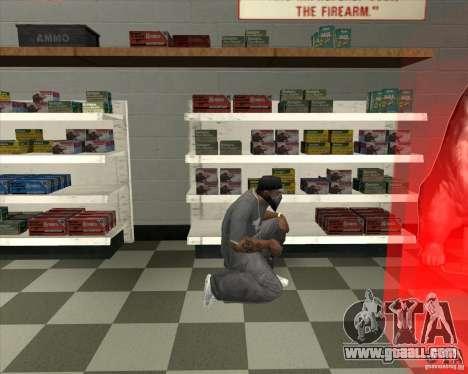 New Ammunation for GTA San Andreas third screenshot
