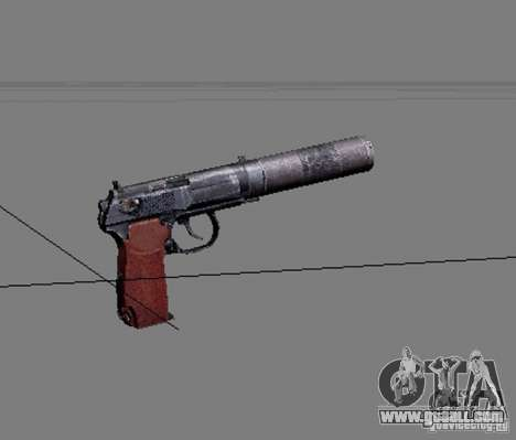 A set of weapons from stalker V2 for GTA San Andreas seventh screenshot