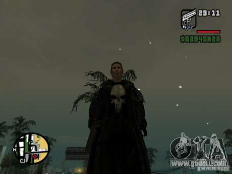 The Punisher for GTA San Andreas second screenshot