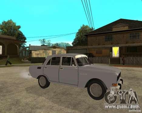 AZLK Moskvich 2140- for GTA San Andreas right view