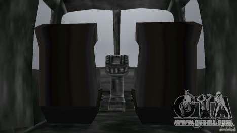 FBI Maverick for GTA Vice City back view