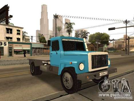 GAZ 3309 for GTA San Andreas side view
