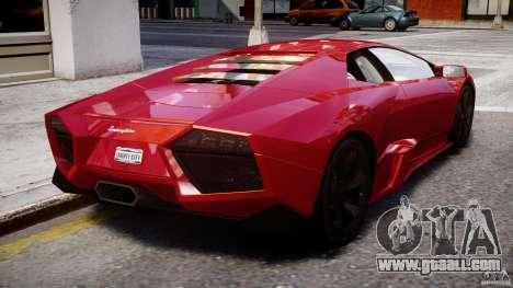 Lamborghini Reventon Final for GTA 4 upper view