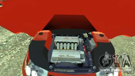 Alfa Romeo GTV Spider for GTA 4 back view